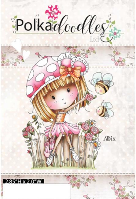 Winnie's Rose Garden - Rubber Stamp