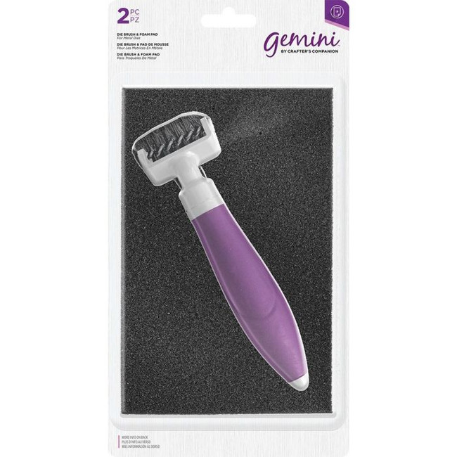 Gemini Die Brush Tool and Foam Pad