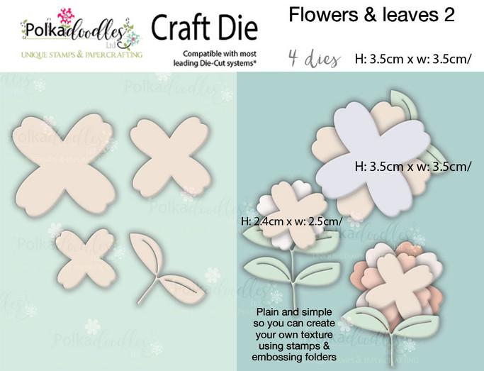 Flowers 2 - Craft cutting die