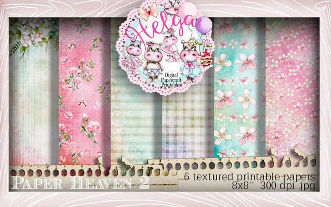 Helga Hippo Paper Heaven 2 download bundle