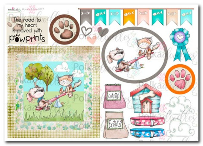 Horace & Boo Design Sheet 4- download printable