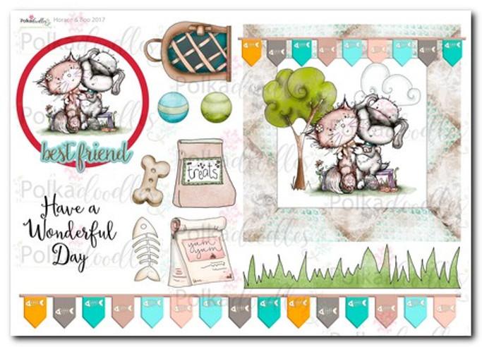 Horace & Boo Design Sheet 7- download printable
