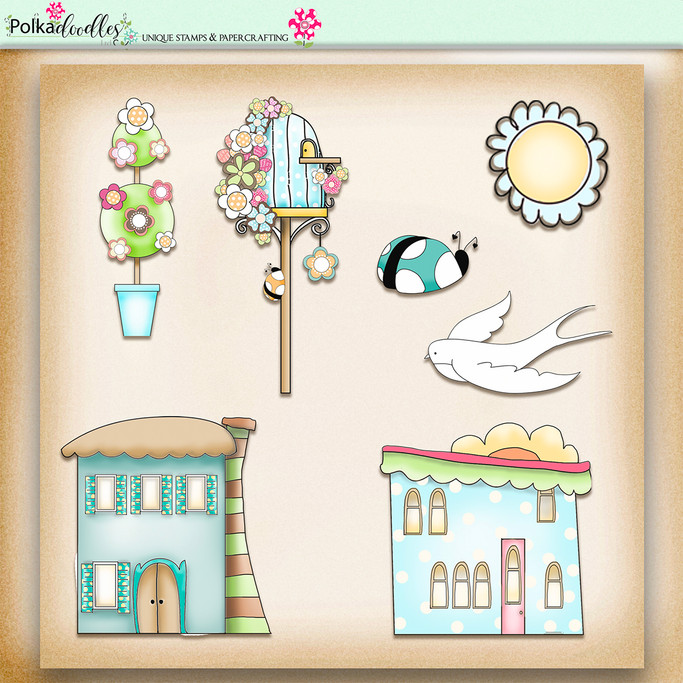 Apple Lagoon - digiscrap kit elements