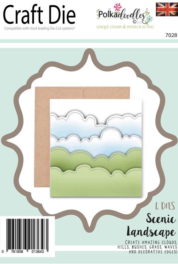 Scenic Landscape -  Craft Cutting die set