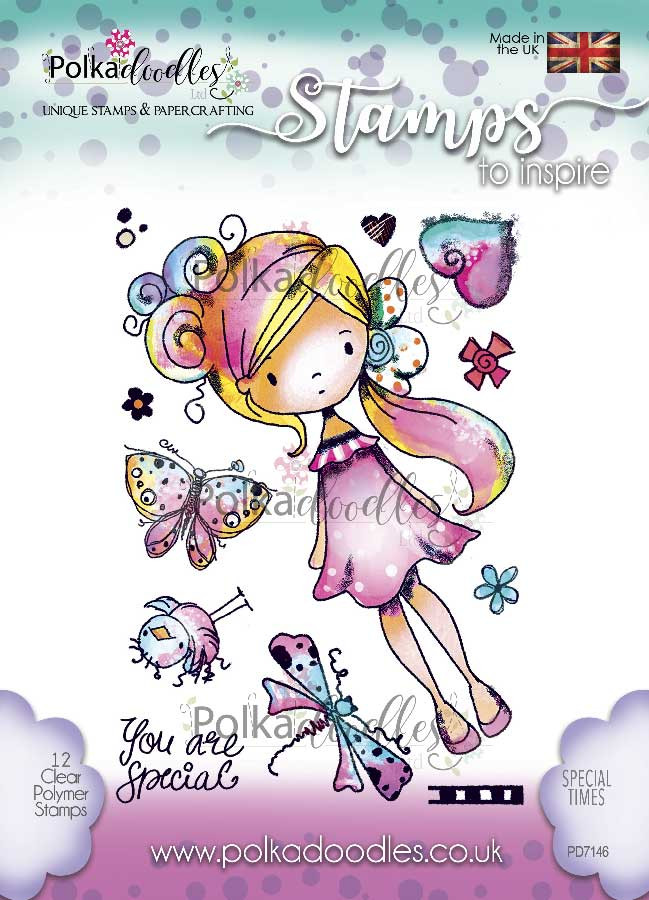 SPECIAL TIMES Clear Stamp set - 9 stamps