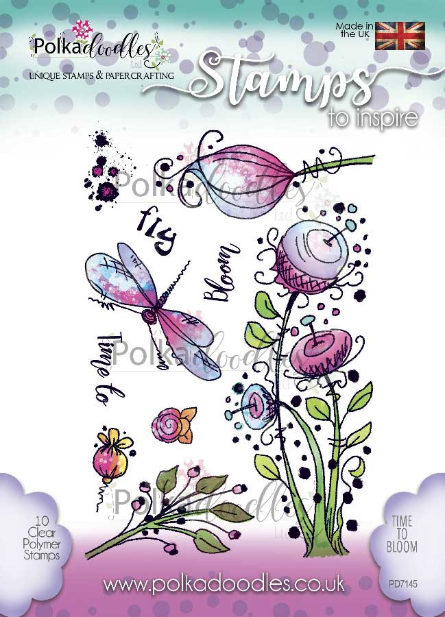 Special Times Clear Stamp set - 12 stamps