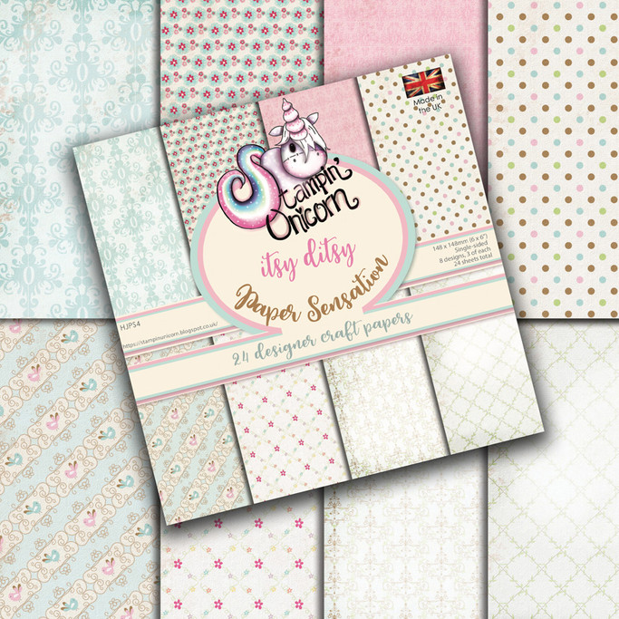 "Itsy Ditsy 6 x 6"" Paper Pad"