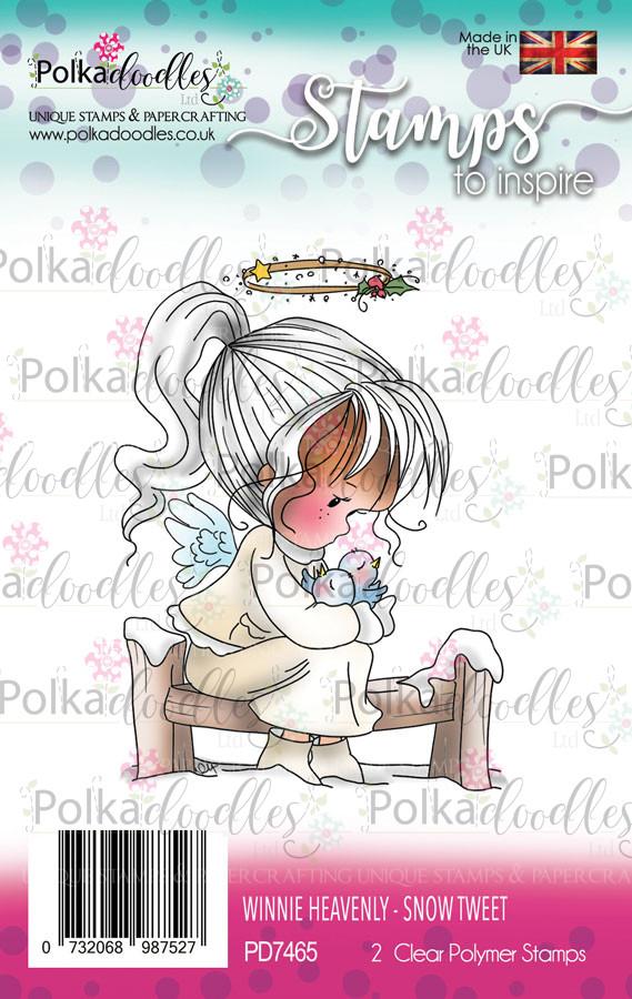Snow Tweet - Winnie Heavenly Clear Stamp set