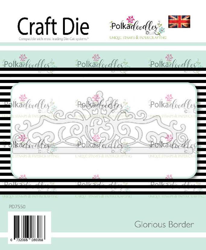 Glorious Border craft cutting die