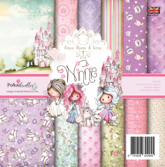 "Winnie Fairytale 6 x 6"" paper pack"