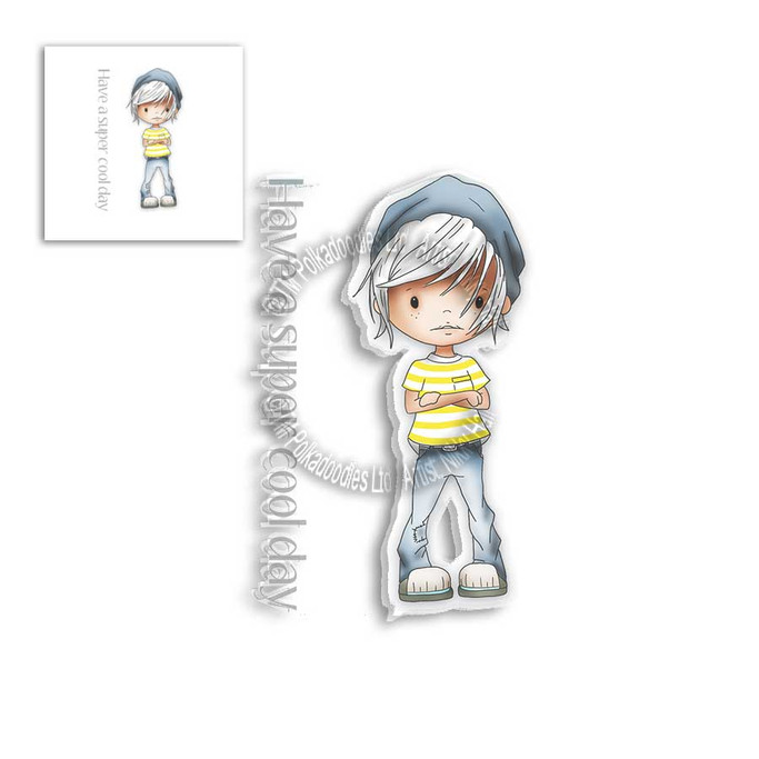LITTLE DUDES - COOL - Clear Stamp