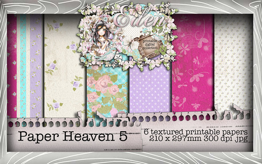 Eden Collection - Paper Heaven 5 Digital Craft Download Bundle