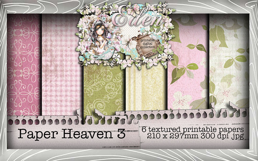 Eden Collection - Paper Heaven 3 Digital Craft Download Bundle