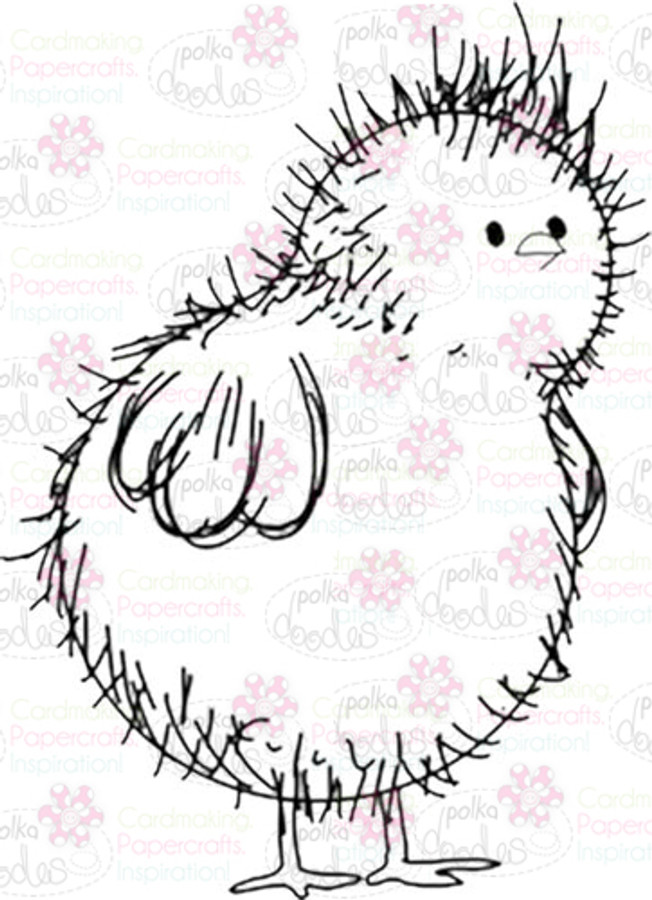 Chick Digital Stamp - Digital Craft Download