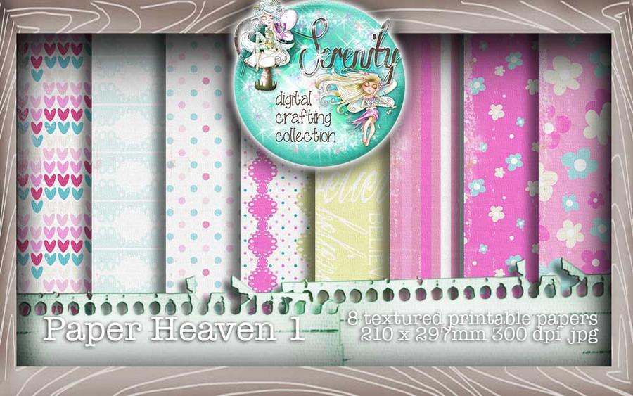Serenity Fairy Wishes Paper Heaven 2 - Digital Craft download bundle