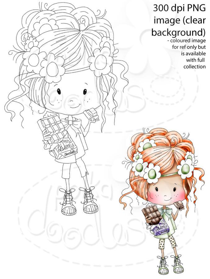 Winnie Sugar Sprinkles Springtime - Mmmmm Chocolate!