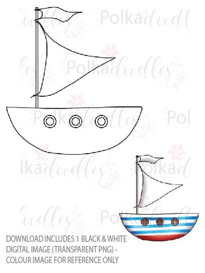 Winnie Starfish/Sandcastles - Boat DOWNLOAD