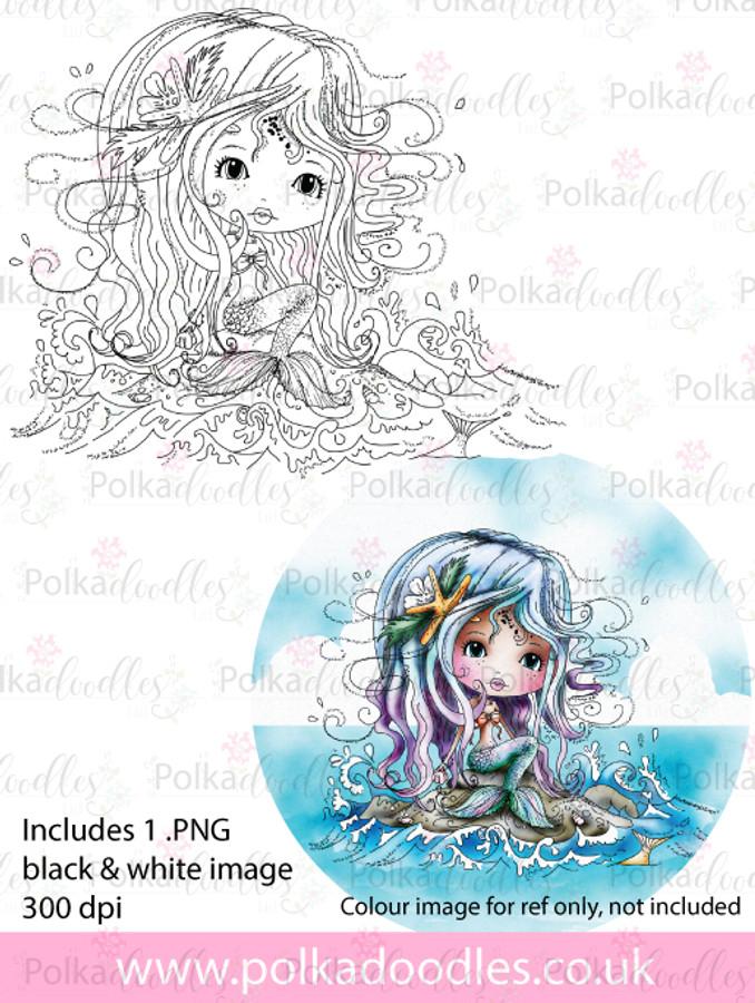 Meribelle Rock It- digital craft stamp download