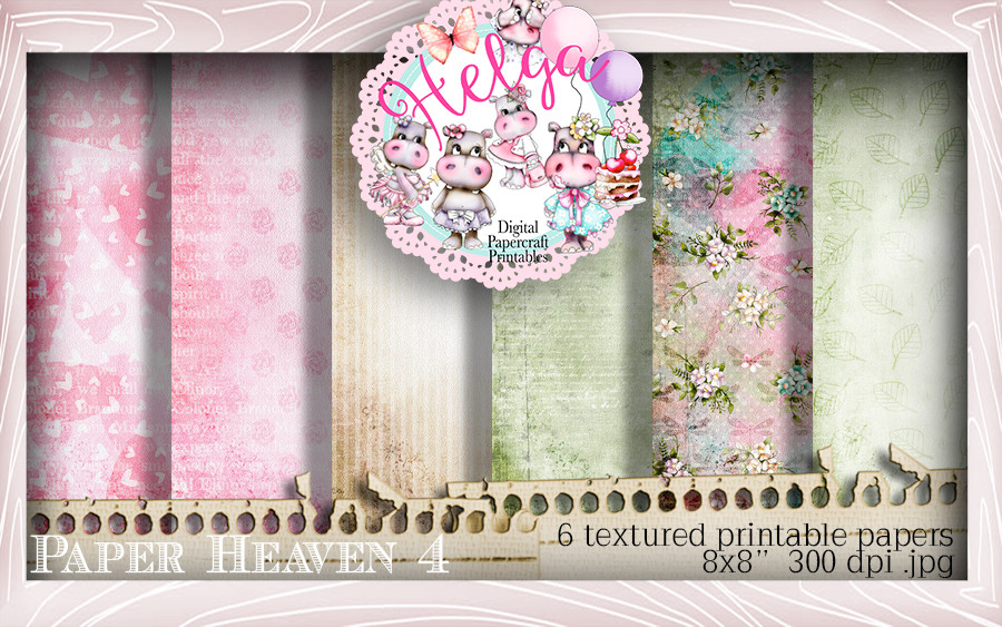 Helga Hippo Paper Heaven 4 download bundle