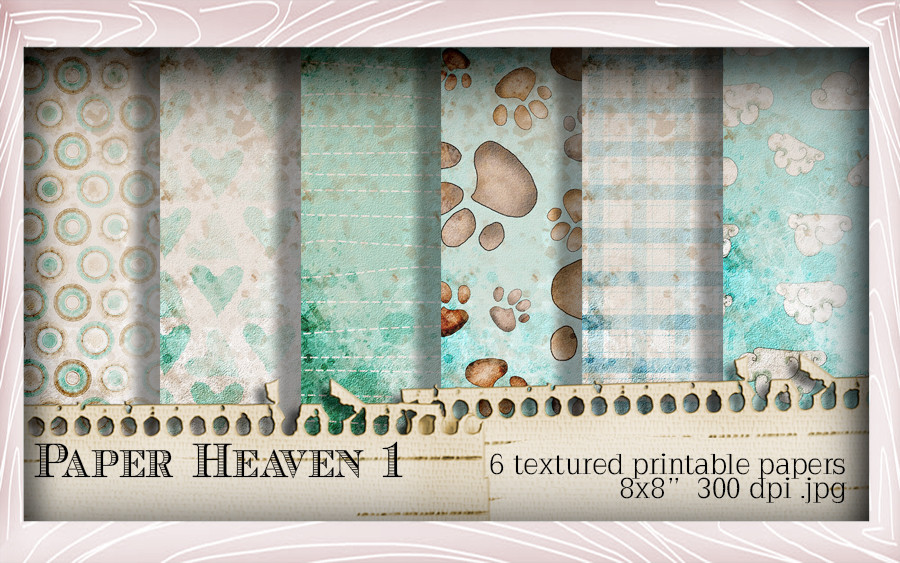 Paper Heaven 1 - Horace & Boo download printable bundle