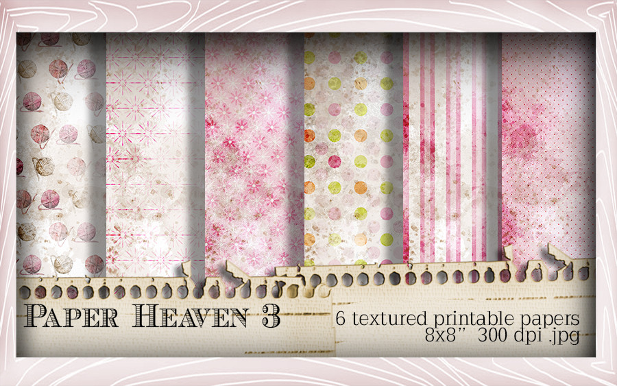 Paper Heaven 3 - Horace & Boo download printable bundle