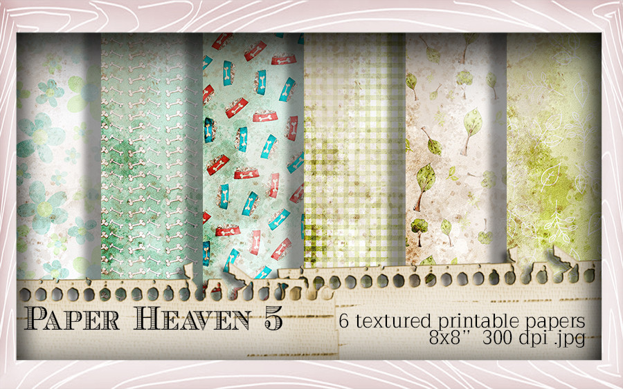 Paper Heaven 5 - Horace & Boo download printable bundle