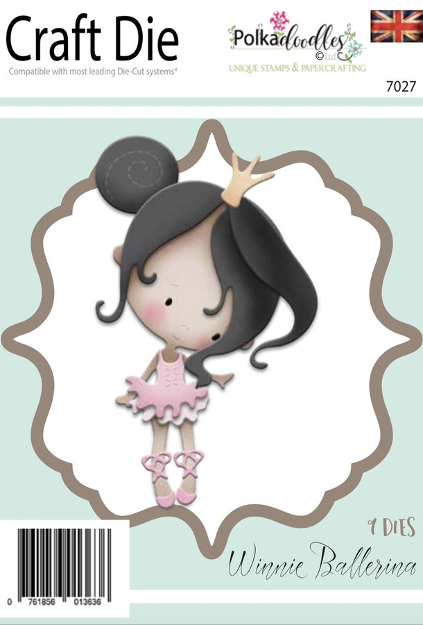 Winnie Ballerina  - Character Craft Cutting die set