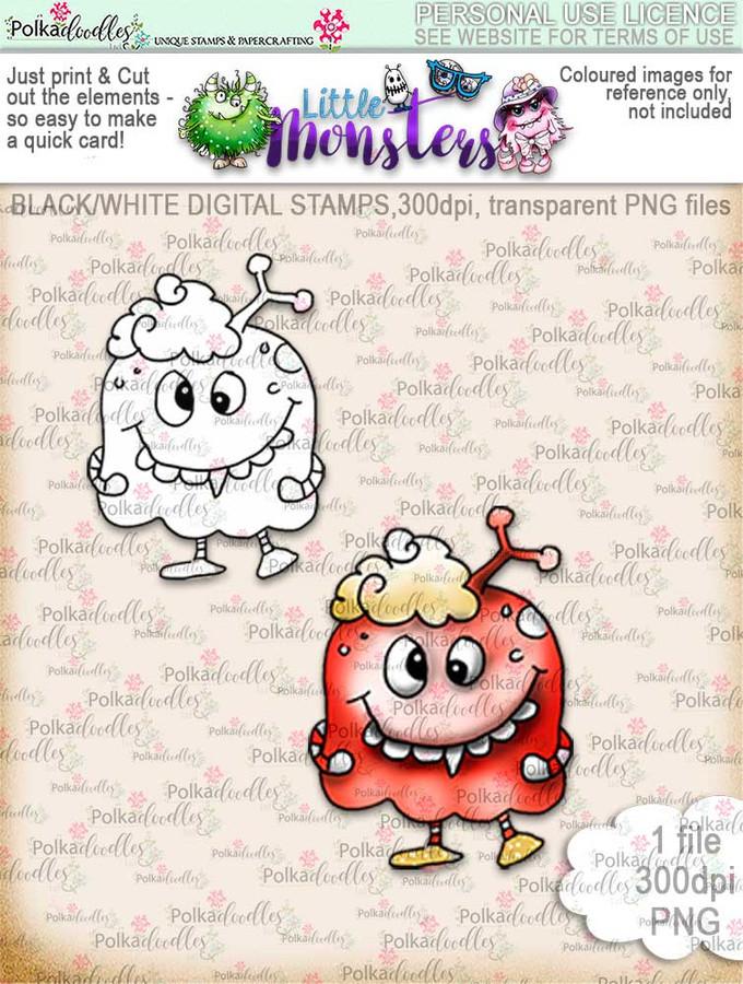 Little Monsters Dohh digi stamp download