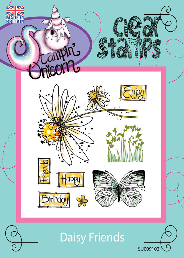 Daisy Friends - Clear Stamp Set
