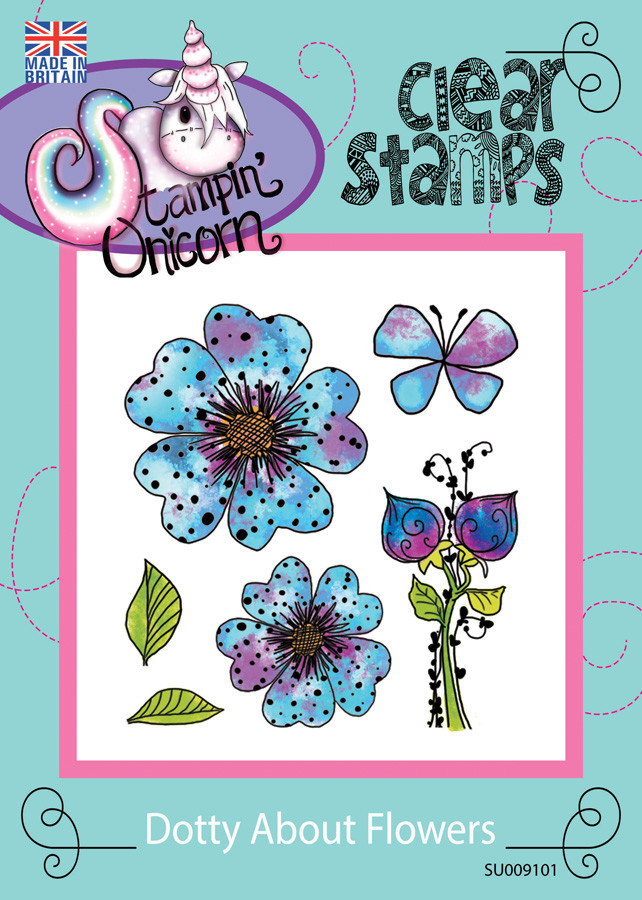 Dotty About Flowers - Clear Stamp Set