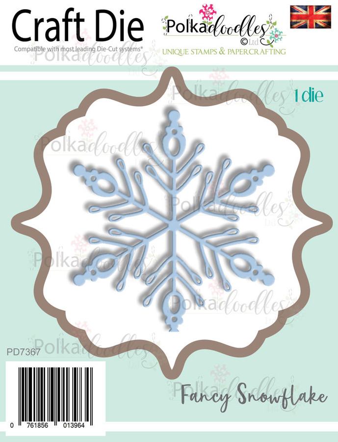 Fancy snowflake - Christmas Craft cutting die
