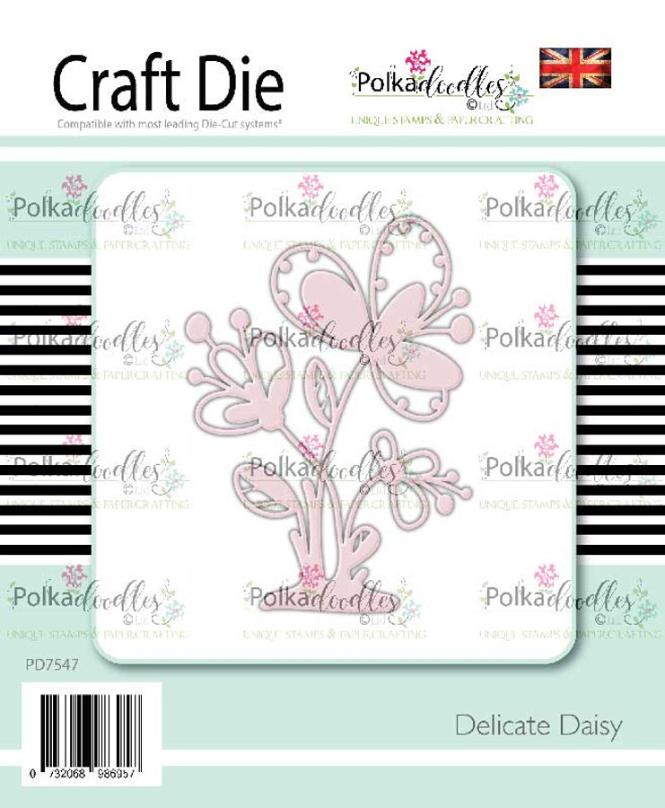 Delicate Daisy craft cutting die
