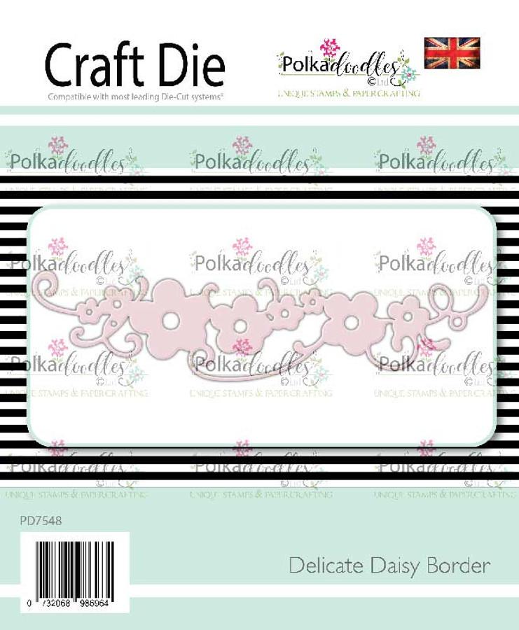 Delicate Daisy Border craft cutting die