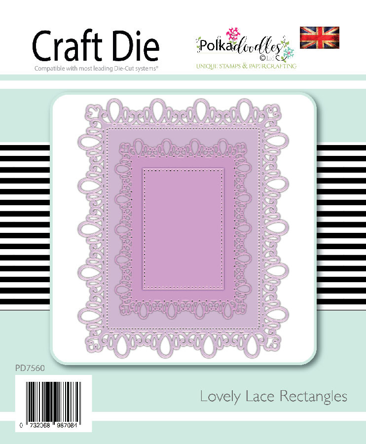 Lovely Lace Rectangles dies