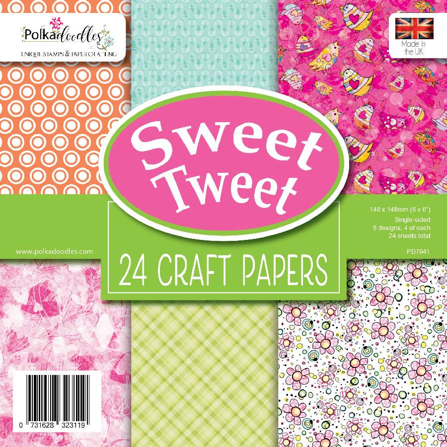 """Fresh Twist 6 x 6"""" paper pack"""