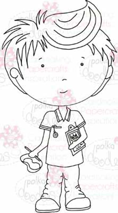 Nurse Joe digital stamp download