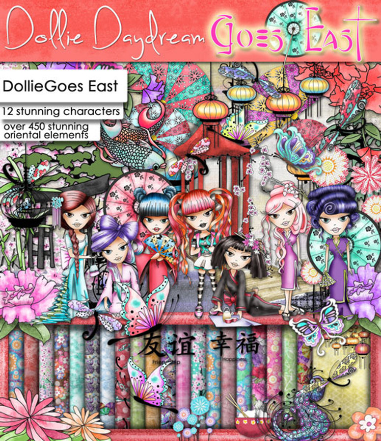 Dollie Daydream Goes East Craft Download bundle