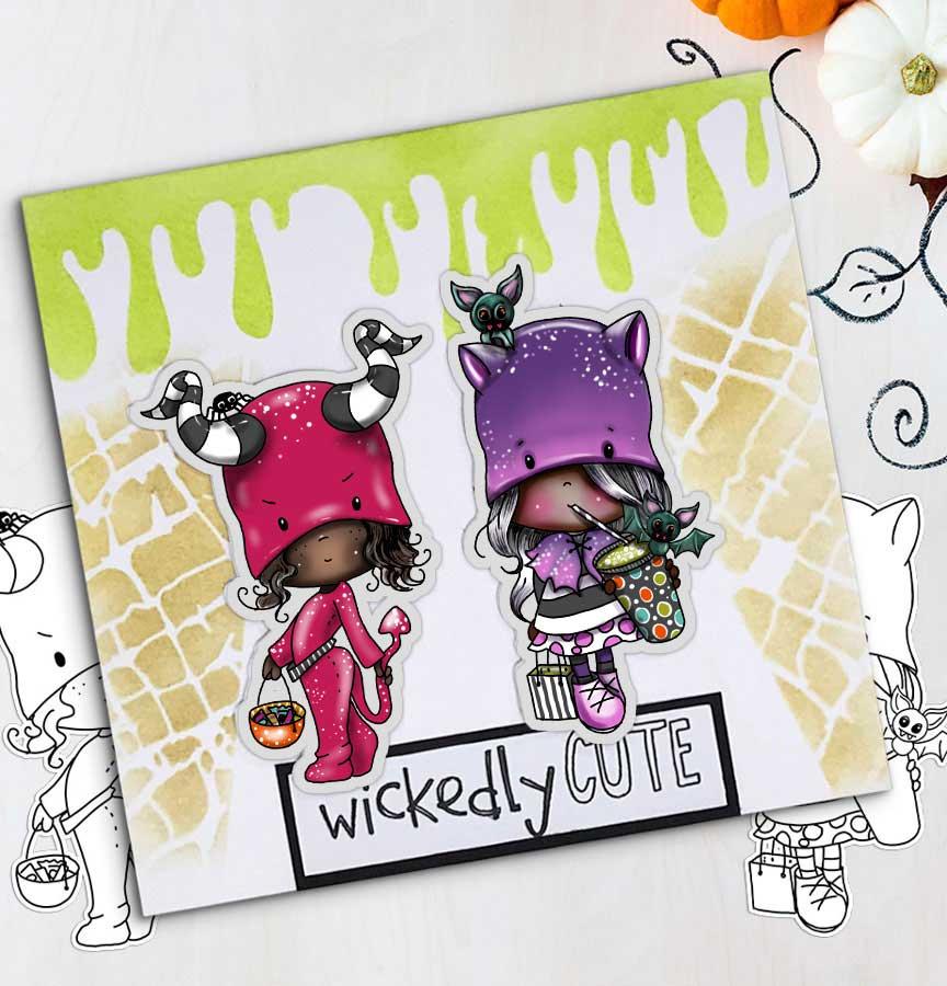 Boo Halloween printable digital stamp downloads