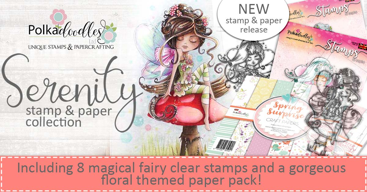 Serenity Fairy paper crafting collection