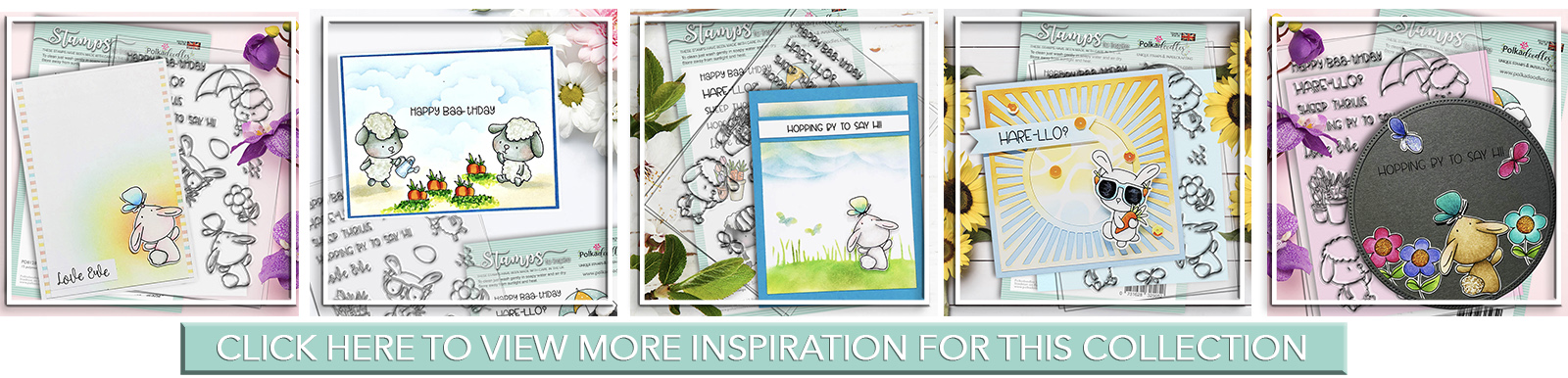Inspiration and sample images for Springin Around collection