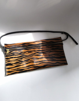 HAIR ON HIDE BELT BAG