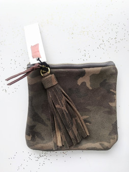 LEATHER CAMO ACCESSORY GIFT SET