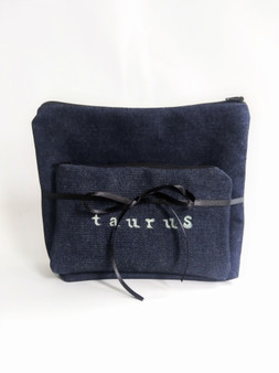 ZODIAC DENIM POUCH GIFT SET