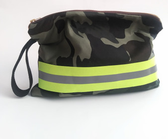 CAMO POP CLUTCH GREEN /NEON