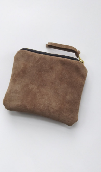 DAILY WALLET / TAUPE SUEDE