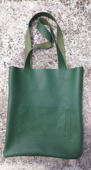 CITY TOTE/ GREEN
