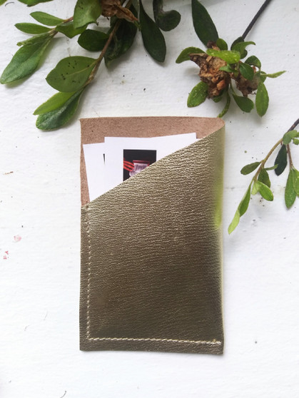 CARD CASE / GOLD
