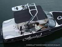FreeRide Wakeboard Tower Bimini - Sunbrella Jet Black