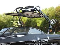 FreeRide Wakeboard Tower Bimini - Sunbrella Jet Black