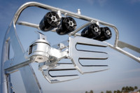 FreeRide Wakeboard Tower  - Polished Aluminum